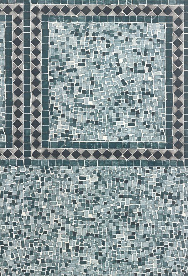 Mosaico Turquesa
